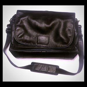 Bosca messenger; laptop/tablet bag.